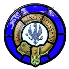 Regimental Stained Glass Roundel