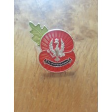Poppy pin badge